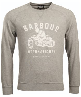 Men's Barbour International Burn Crew Neck Sweater