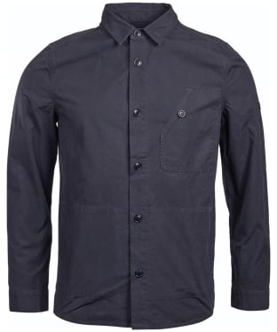 Men's Barbour International Camber Button Thru Overshirt - Navy