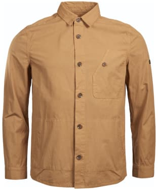 Men's Barbour International Camber Button Thru Overshirt - Sand