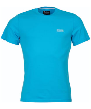 Men's Barbour International Small Logo Tee - Apex Blue