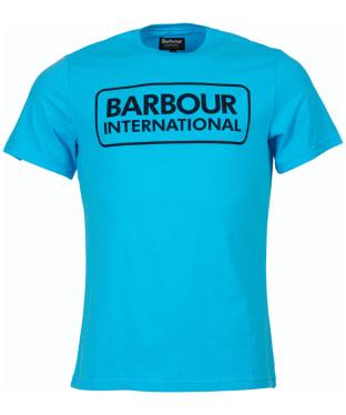 Men's Barbour International Essential Large Logo Tee - Apex Blue