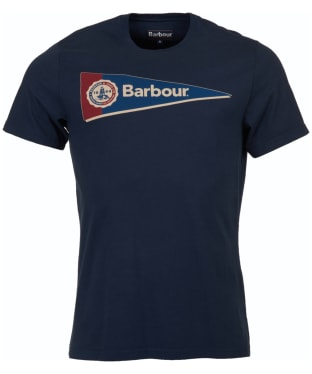 Men's Barbour Pennant Tee - Navy