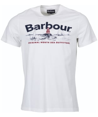 Men's Barbour Waterline Tee - White