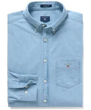 Men's GANT Regular Indigo Shirt - Indigo