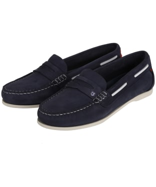 Women's Dubarry Belize Slip-on Deck Shoes - Denim