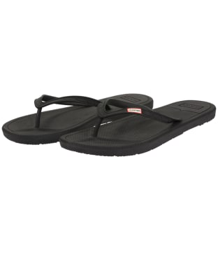 Men's Hunter Original Flip Flops - Black