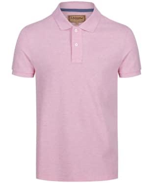 Men's Schoffel Padstow Polo Shirt - Pink