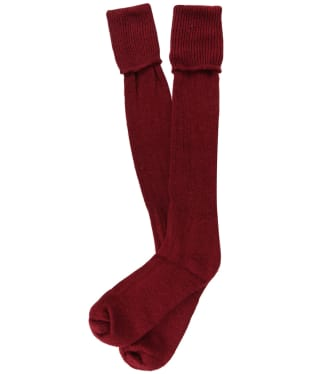 Pennine Gamekeeper Socks - Cherry