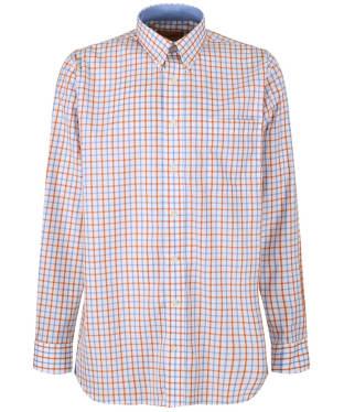 Men's Schoffel Holkham Shirt - Ochre Check