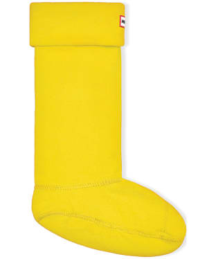 Hunter Fleece Welly Socks Adult - New Yellow