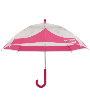 Hunter Original Kids Moustache Bubble Umbrella - Bright Pink