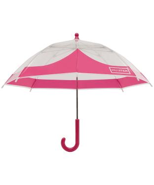 Hunter Original Kids Moustache Bubble Umbrella - Bright Pink
