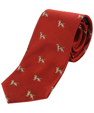 Men's Soprano Hounds Tie - Red