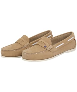 Women's Dubarry Belize Slip-on Deck Shoes - Beige