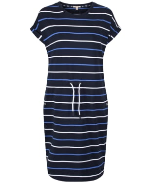 Women's Barbour Marloes Dress - Navy / Blue / White
