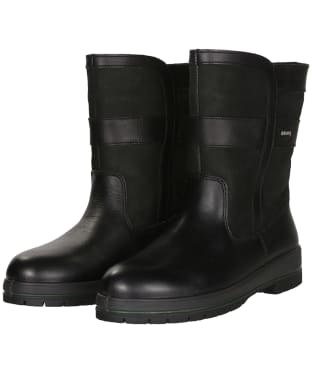 Women's Dubarry Roscommon Leather Boots - Black