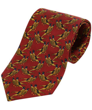 Men's Soprano Country Birds Tie - Rust