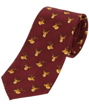 Men's Soprano Stags Heads Tie