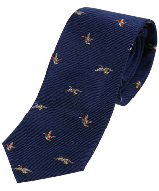 Men's Soprano Flying Ducks Tie - Blue