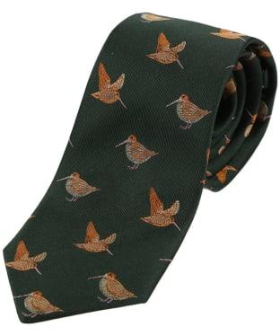 Men's Soprano Woodcocks Country Silk Tie