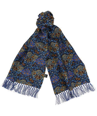 Men's Soprano Edwardian Inspired Aviator Scarf - Blue