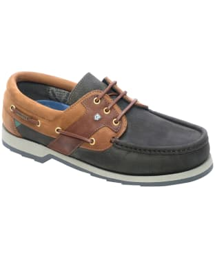 Dubarry Clipper Deck Shoes - Navy / Brown