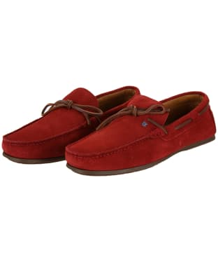 Men's Dubarry Corsica Loafers - Red