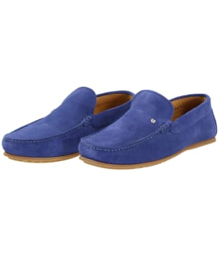 Men's Dubarry Azores Loafers - Cobalt Blue