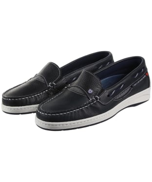 Women's Dubarry Capri Moccasins - Navy