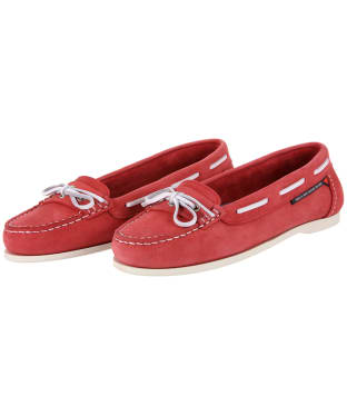 Women's Dubarry Fiji Deck Shoe - Red