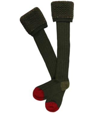 Men's Pennine Ambassador Shooting Socks - Hunter