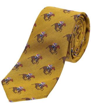 Men's Soprano Horse Racing Woven Silk Tie