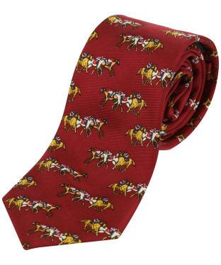 Boy's Soprano Horse Racing Country Silk Tie