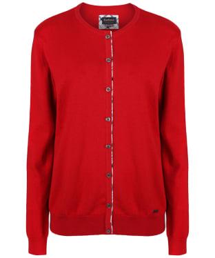 Women's Barbour Hamerley Cardigan - Red