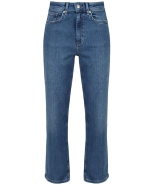 Women's GANT Cropped Jeans - Semi Light Indigo