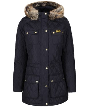 Women's Barbour International Enduro Quilt - Navy