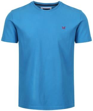 Men's Crew Clothing Classic Tee - Salcombe Blue