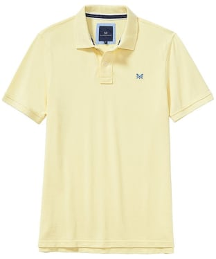 Men's Crew Clothing Classic Pique Polo Shirt - Pale Lemon