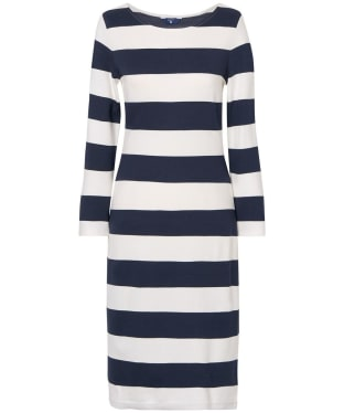 Women's GANT Striped Shift Dress - Marine