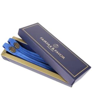 Women's Fairfax & Favor Boot Tassels - Cobalt Blue Suede
