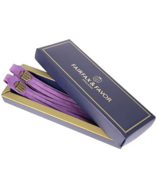 Women's Fairfax & Favor Boot Tassels - Purple Suede
