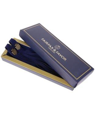 Women's Fairfax & Favor Boot Tassels - Royal Blue Suede