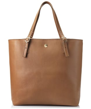 Women's Fairfax & Favor Hurlingham Tote Bag - Tan Leather