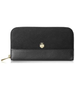 Women's Fairfax & Favor Salisbury Leather Purse - Black