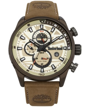 Men's Timberland Henniker II Watch - Beige / Brown