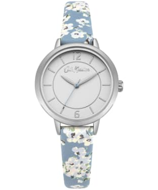 Women's Cath Kidston Wellesley Blossom Watch - White / Blue
