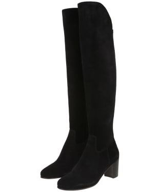 Women's Fairfax & Favor Amira Heeled Boots - Black
