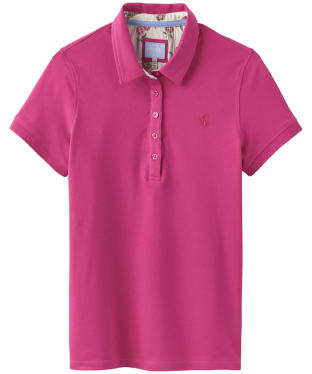 Women's Joules Pippa Polo Shirt - Rose Pink