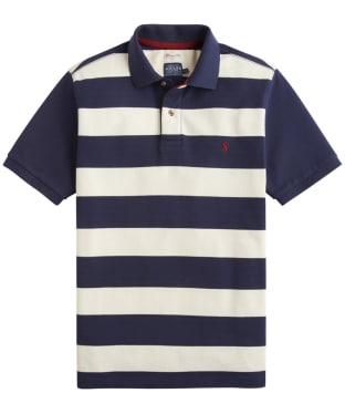 Men's Joules Filbert Polo Shirt - French Navy Stripe