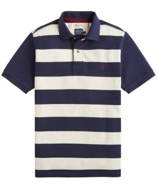 Men's Joules Filbert Polo Shirt - French Navy Star Stripe